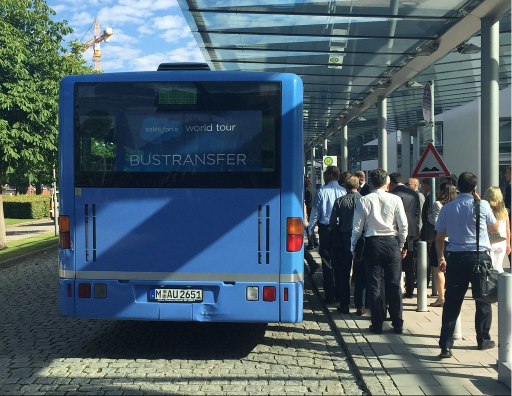 Salesforce World Tour 2015 Munich by Hassan Hosseini I The-Industry-Analyst.com